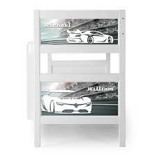 Race Car Bunk Bed Kolino Nesto Bunk Bed Race Car Pkffnebbwt Rc