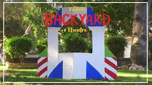 backyard theatre toy story stage diy disney family youtube