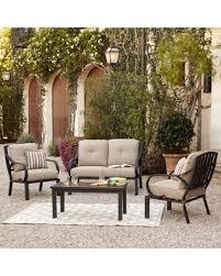 Outdoor Patio Conversation Sets by Great Deals On Royal Garden Norman 4 Piece Outdoor Patio