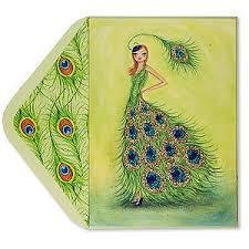 peacock cards pilar papyrus b ella polyvore