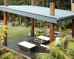 alfresco roof ideas will make shade and comfortable