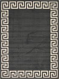 Area Rugs Modern Modern Design Border Area Rug Contemporary Large Soft Carpet