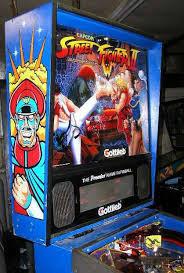 Street Fighter 3 Arcade Cabinet Street Fighter 2 Pinball By Gottlieb Of 1993 At Www Pinballrebel Com