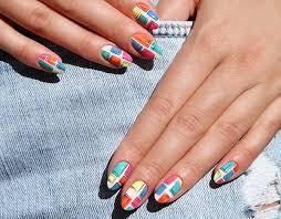 geometric nail art u2013 tips and tricks for fashionable nail designs