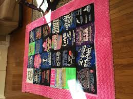 How To Make A Rug Out Of Fabric How To Make A Quilt From Tee Shirts 11 Steps With Pictures