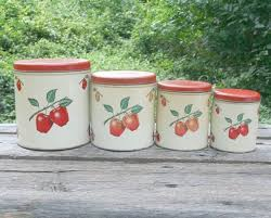 apple canisters for the kitchen 71 best apples images on pinterest apples vintage kitchen and