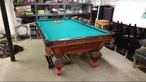 Dallas Cowboys Pool Table Felt by Any Idea Who Made This Old Pool Table