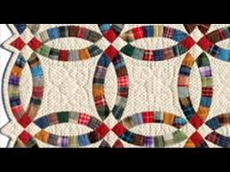 Double Wedding Ring Quilt by Miniature Double Wedding Ring Youtube