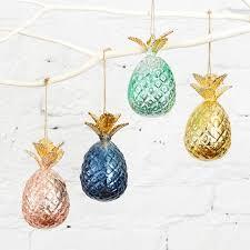 best 25 pineapple ornament ideas on coastal