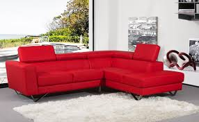 Contemporary White Leather Sectional Sofa by Cool Red Leather Sectional Sofa With Sofa Beds Design Mesmerizing