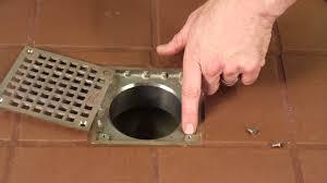 Basement Floor Drain Grate by Guardian Drain Lock Floor Drain Locks Youtube