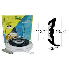 vinyl rub rail kits taco marine