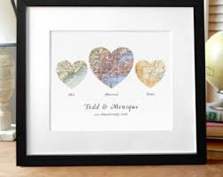 wedding gift map wedding gift map etsy