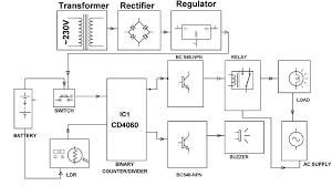 555 block diagram wiring diagram components