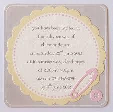 Invitation Card Message Design Make Baby Shower Invitations