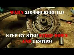 jd u0027s defendercam 4 warn xd9000 winch rebuild part1 testing