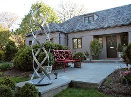 modern outdoor sculpture sculpture garden terra sculpture