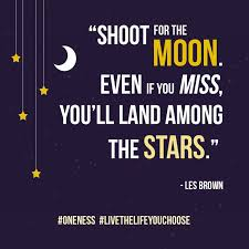 shoot for the moon the daily quotes