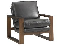 Leather Chair by Lexington Leather Axis Leather Chair Lexington Home Brands