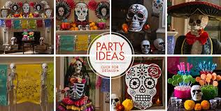 the party supplies day of the dead decorations supplies day of the dead skulls