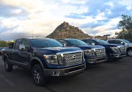 nissan blue truck 2016 nissan titan xd is it the