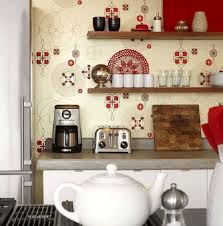 kitchen wallpaper designs wallpaper kitchen designs shabby chic