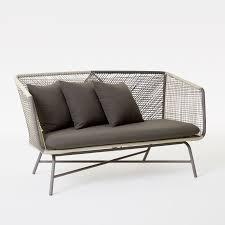 Patio Furniture Sofa by Huron Sofa U2013 Gray Seal West Elm
