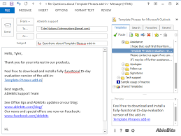 outlook plug ins to automate most common e mailing tasks