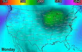 Weather Map Ohio Rain Showers Possible Every Day Gloomy Northeast Ohio 5 Day
