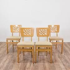 Stakmore Folding Chairs Vintage Vintage Stakmore Folding Chair Flea Market Flip Pinterest