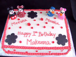 mickey and minnie mouse birthday cake the twisted sifter