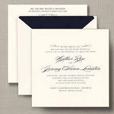 gilt edged ecru heavyweight large square wedding invitations