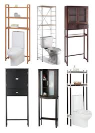 bathroom black painted bathroom storage cabinet over toilet