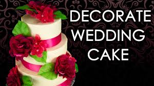 how to make a wedding cake wedding cake decorating part 3 from