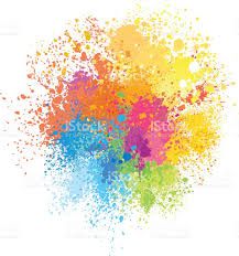 color background of paint splashes stock vector art 509620700 istock
