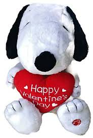 snoopy valentines day peanuts snoopy happy s day plush musical