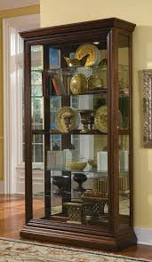 pulaski curio cabinet costco the images collection of with dazzling curio cabinets for furniture
