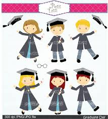 cheapest graduation invitations children graduate clip art digital clip art for by petittatti