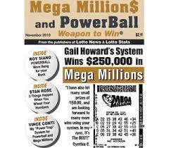 Mega Millions Payout Table Gail Howard U0027s Smart Luck Lottery Winners