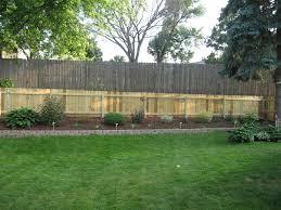 backyard fence ideas cheap home outdoor decoration
