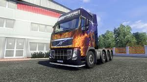 volvo hd trucks volvo fh16 8x4 v2 0 super control for euro truck simulator 2