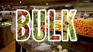 buying in bulk at the supermarket may cost you more money