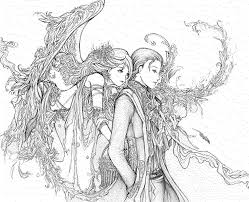 free printable coloring pages adults fairies u2013 wallpapercraft