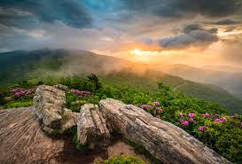 Tennessee Landscapes images Tennessee appalachian mountains sunset scenic landscape jpg