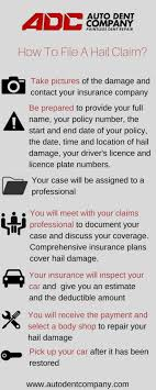 Paintless Dent Repair Estimate Sheet by 2 Reasons Why You Should File Your Hail Damage Claim Early Auto