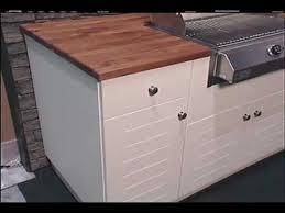 diy outdoor kitchen cabinets custom outdoor kitchen cabinets atlantis cabinetry youtube