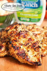 cilantro lime ranch grilled chicken cilantro lime ranch dressing