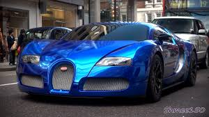 mayweather car collection 2016 blue chrome bugatti veyron centenaire driving in london