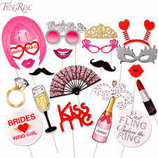 photo booth supplies fengrise 20pcs wedding photo booth props bachelorette party