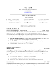 Resume Writing Tips And Samples by Sample Demand Planning Resume For More Resume Writing Tips Visit